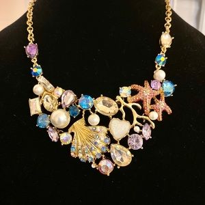 NWT Betsey Johnson Mermaid Wonderland Necklace